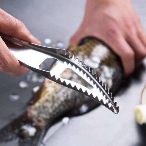 Нож для рыбьей чешуи