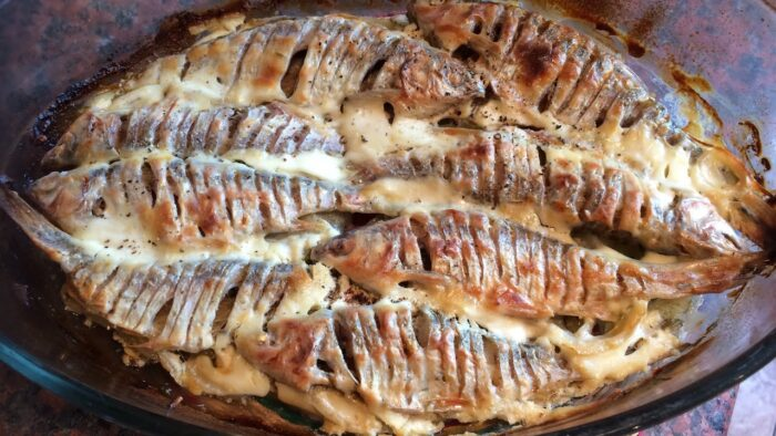 плотва рыба в духовке