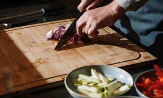 лук овощи