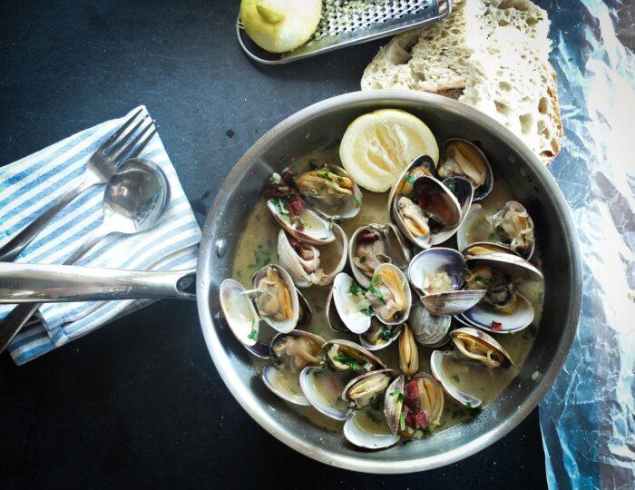 Блюдо из моллюска