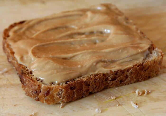 Бутерброд с печенью ската