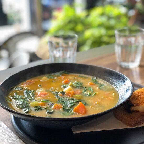 Суп с рисовой крупой
