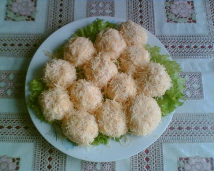 шарики с сыром